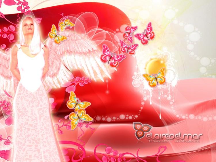Fonds d'écran Fantasy et Science Fiction Anges Fantasy Angels