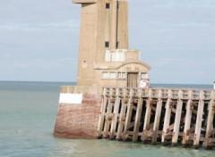 Wallpapers Constructions and architecture Phare du port de Fecamp