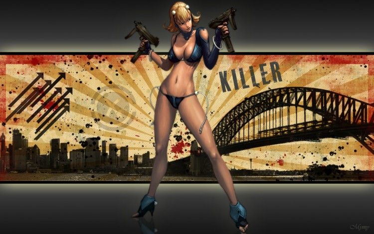 Wallpapers Fantasy and Science Fiction Miscellaneous Characters Killer