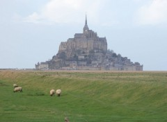 Fonds d'écran Nature Le Mont Saint Michel