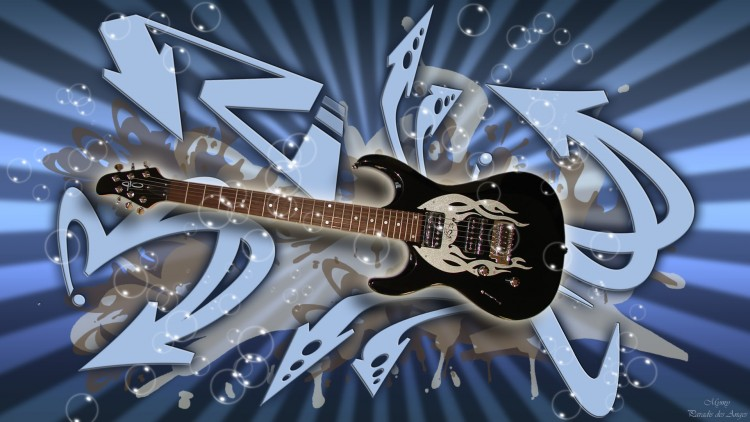 Wallpapers Music Instruments - Guitares Guitare