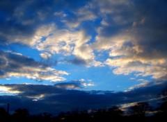 Fonds d'écran Nature ciel coucher couché de soleil nuage