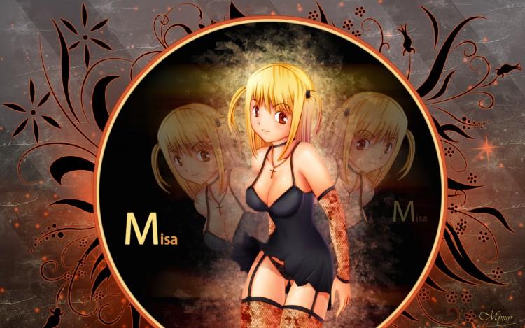 Fonds d'écran Manga Sexy Misa