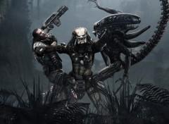 Wallpapers Video Games Aliens vs predator