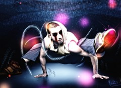 Fonds d'écran Art - Numérique Hip-Hop Darkness