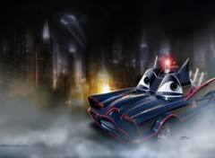 Fonds d'écran Dessins Animés Batmobile