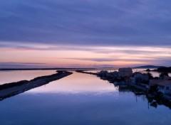 Fonds d'écran Voyages : Europe Canal du Rhône à Sète (34)