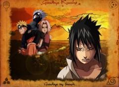 Fonds d'écran Manga Goodbye Konoha