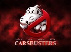 Fonds d'écran Dessins Animés Carsbusters - Logo