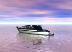 Fonds d'écran Art - Numérique bateau