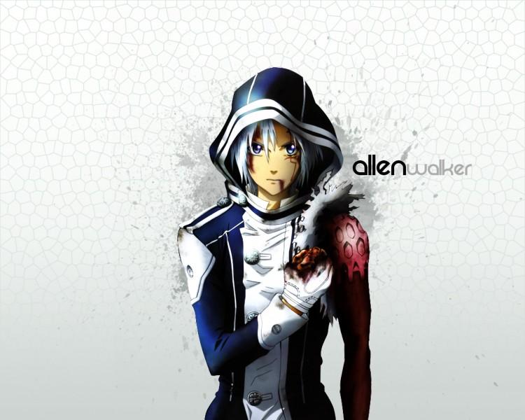 Fonds d'écran Manga D. Gray-Man Allen - Black and Gray