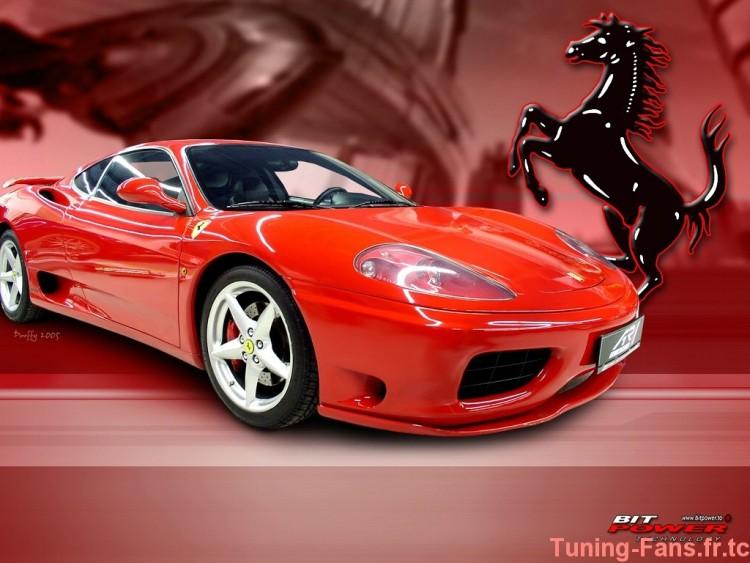 Fonds d'écran Voitures Ferrari Wallpaper N°257653