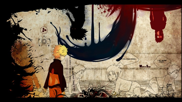 Fonds d'écran Manga Naruto Parallel Worlds