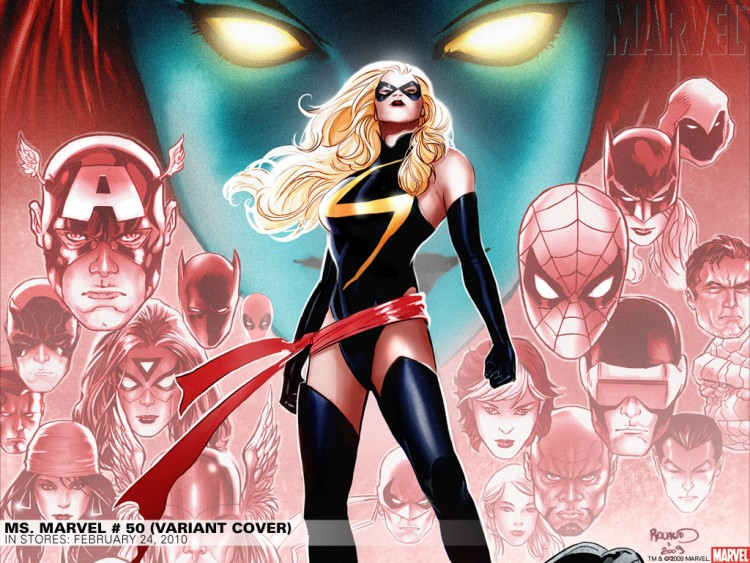 Fonds d'écran Comics et BDs Avengers miss marvel