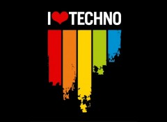 Wallpapers Music i love techno