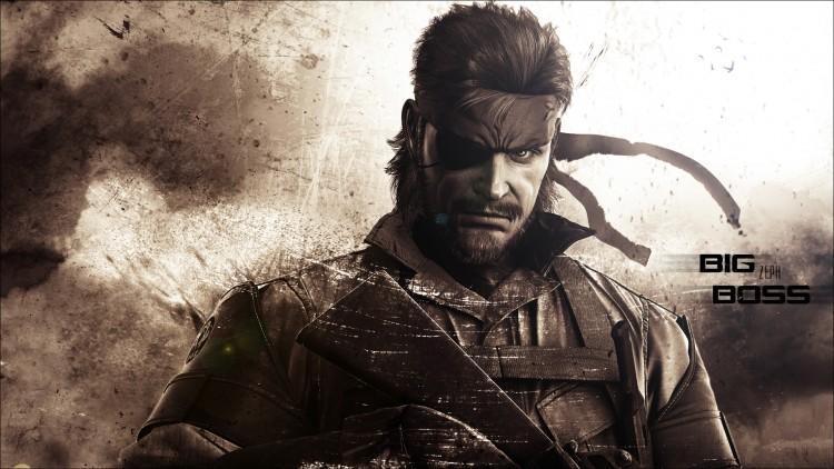 Wallpapers Video Games Metal Gear Solid: Peace Walker Big Boss