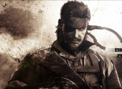 Wallpapers Video Games Big Boss