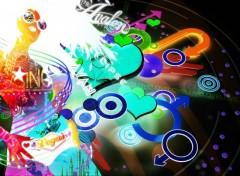 Fonds d'écran Art - Numérique Neon Girl