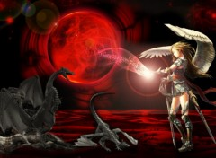 Wallpapers Fantasy and Science Fiction Planete Rouge