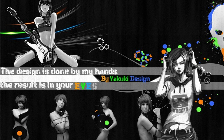 Wallpapers Digital Art Music Rock'N roll