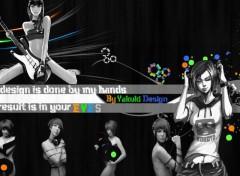 Fonds d'écran Art - Numérique Rock'N roll