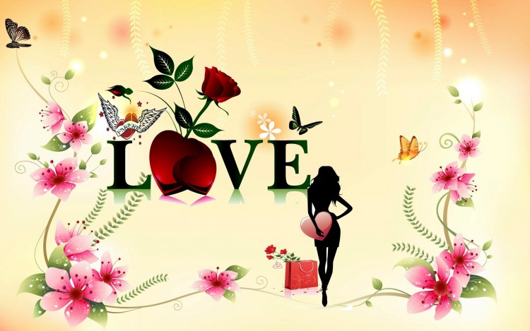 Wallpapers Digital Art Love - Friendship My love