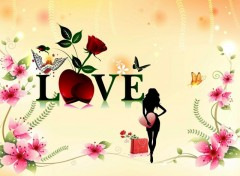 Wallpapers Digital Art My love