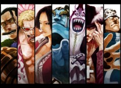 Fonds d'écran Manga Shichibukais