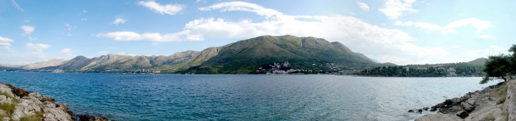 Fonds d'écran Voyages : Europe Croatie Photo prise depuis le village de Cavtat (Croatie)