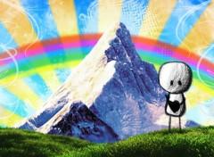 Fonds d'écran Art - Numérique Rainbow
