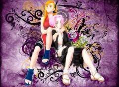 Fonds d'écran Art - Numérique Sakura