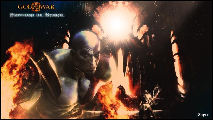 Wallpapers Video Games God Of War 3 Fantôme de Sparte