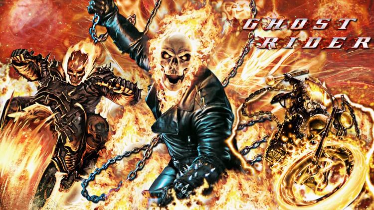 Fonds d'écran Cinéma Ghost Rider ghost rider