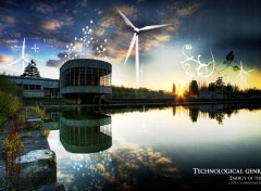 Wallpapers Constructions and architecture Energy of the future
