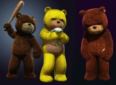 Fonds d'écran Jeux Vidéo Naugty Bear