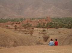 Fonds d'écran Voyages : Afrique Village Marocain
