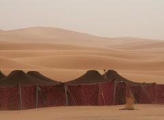 Fonds d'écran Voyages : Afrique Dunes de Merzouga