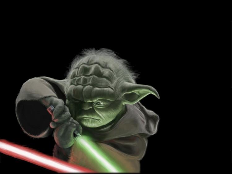 Fonds d'écran Cinéma Star Wars yoda