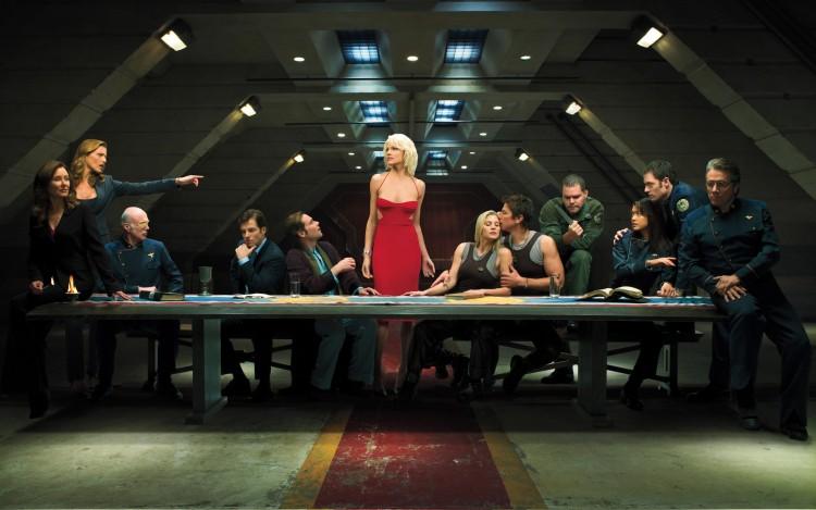 Fonds d'écran Séries TV Battlestar Galactica Battlestar Galactica