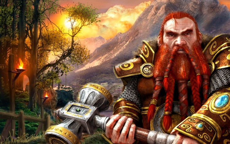 Wallpapers Fantasy and Science Fiction Warriors Gimli
