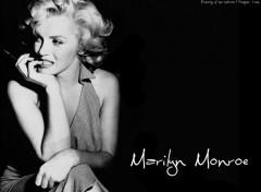 Fonds d'écran Célébrités Femme Marilyn 01