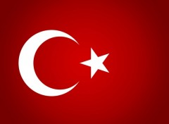 Wallpapers Digital Art Turkey's flag