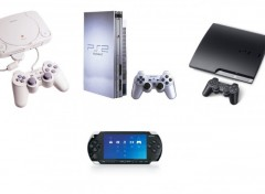 Wallpapers Video Games Les 4 consoles de Sony