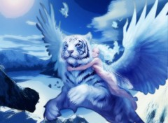 Fonds d'écran Fantasy et Science Fiction The Flying Tiger and The Little Angel