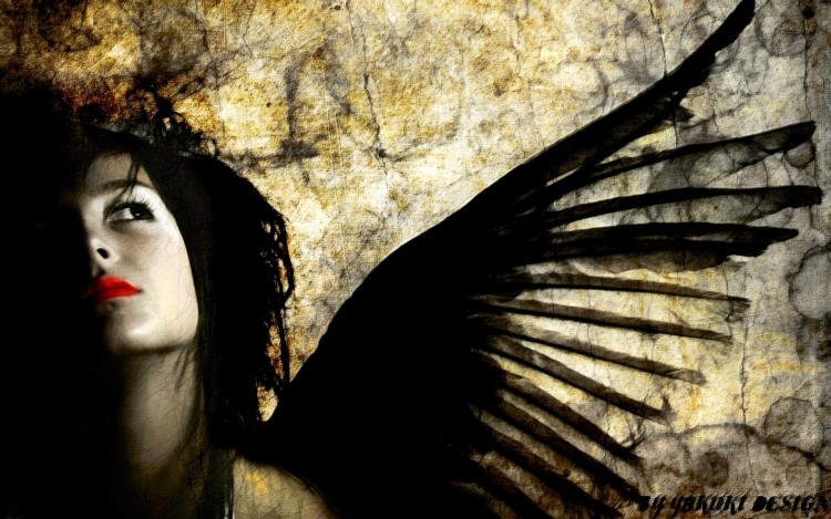Fonds d'écran Art - Numérique Femmes - Féminité Angel