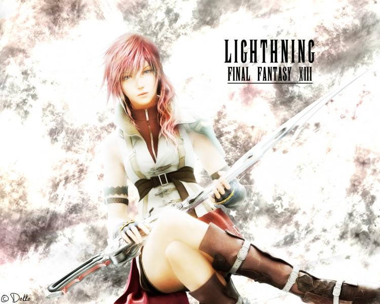 Fonds d'écran Jeux Vidéo Final Fantasy XIII Lightning