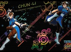 Fonds d'écran Jeux Vidéo Graffiti with Chun-Li