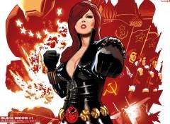 Fonds d'écran Comics et BDs veuve noir