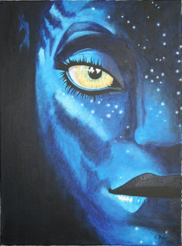 Fonds d'écran Art - Peinture Personnages Neytiri