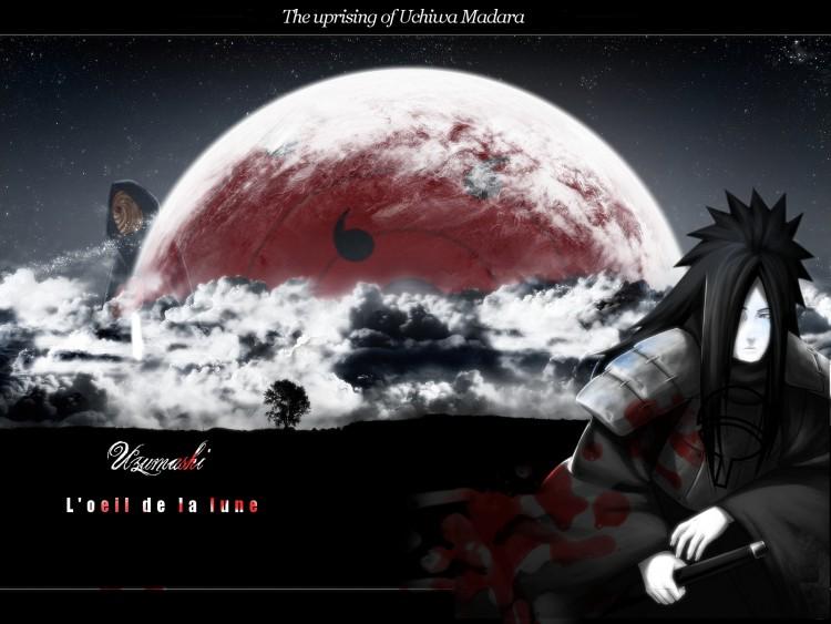 Fonds d'écran Manga Naruto The uprising of Uchiwa Madara